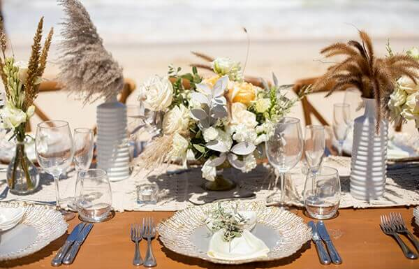 Table set in the Dominican Republic